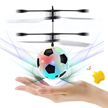 SZSMART RC Juguete Flying Ball Bola Drone helicóptero Bola Iluminación LED Incorporado Adolescentes Colorful Flyings Juguete