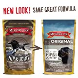 The Missing Link Original All Natural Superfood Dog Supplement- Balanced Omega 3 & 6 Plus Glucosamine to support Mobility and Digestive Health - Hip & Joint Formula - 1