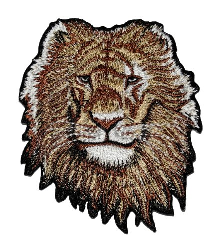 Lion Safari Wildlife Applique Embroidered product image