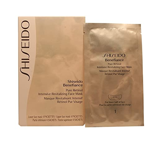 Benefiance Pure Retinol Intensive Revitalizing Face Mask by Shiseido