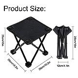 Garne T Mini Portable Folding Stool,Outdoor Folding