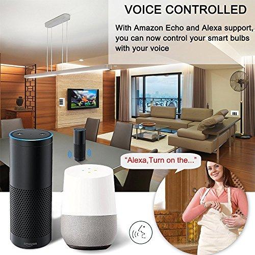 Smart Light Switch/Wifi Smart remote light switch - Wall Touch Switch, Wireless Voice Control and Timer Switch, Work with Amazon Alexa Echo and Google Home by Alysontech (Image #3)