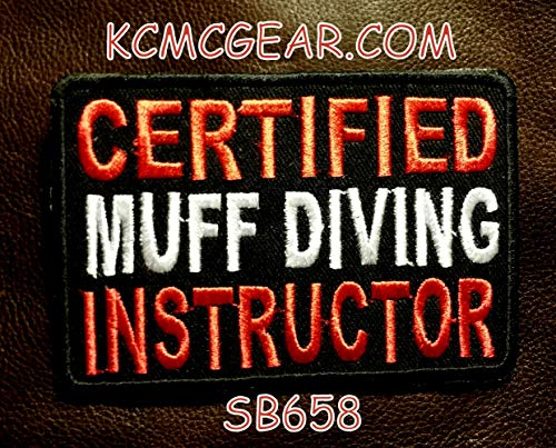 Sturgis-Mid-West Certified MUFF Diving Instructor Small Patche for Vest SB658