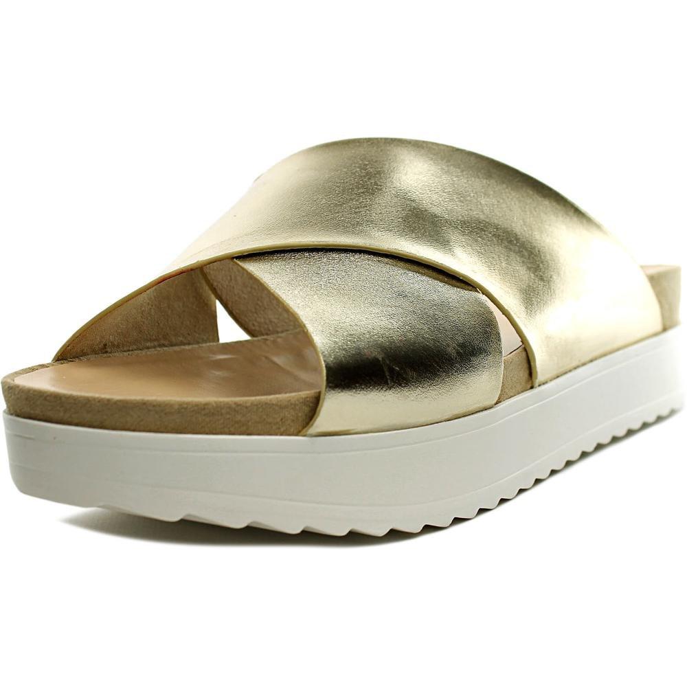 Wanted Womens Marsh Sandals B01FE9YEQ2 6 B(M) US|Gold