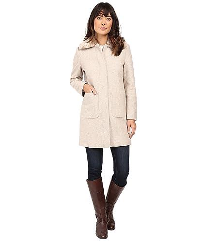 f11fa9267080 Amazon.com  Lauren Ralph Lauren Womens Winter Wool Blend Car Coat Tan 10   Everything Else