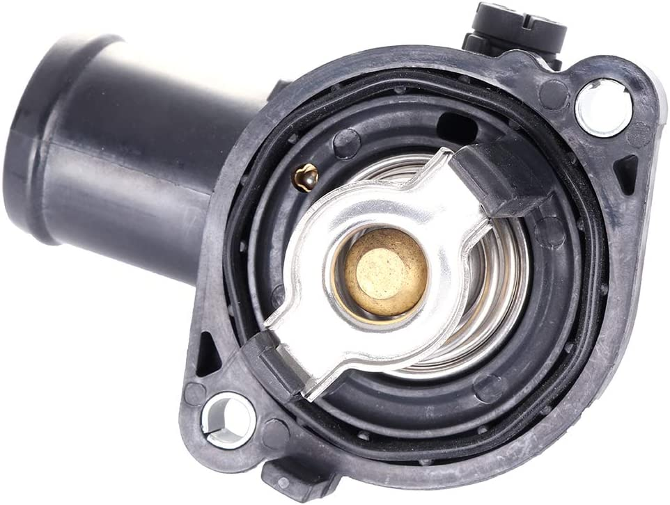 LUJUNTEC Coolant Thermostat Fit for Chrysler Town /& Country 2011-2016,for Dodge Avenger 2011-2014,for Dodge Grand Caravan 2011-2017,for Dodge Journey 2011-2017 Engine Water Inlet Replaces 5184570AH