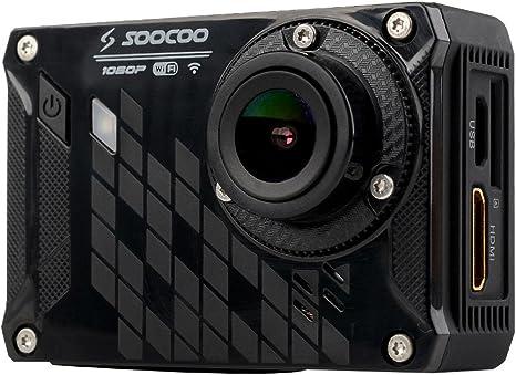 SOOCOO S33WS Pro WiFi Cámara de Deporte de la Acción + 1080P 16MP ...