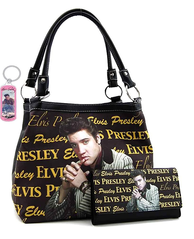 Elvis Presley Medium Purse Wallet Set, Signatures