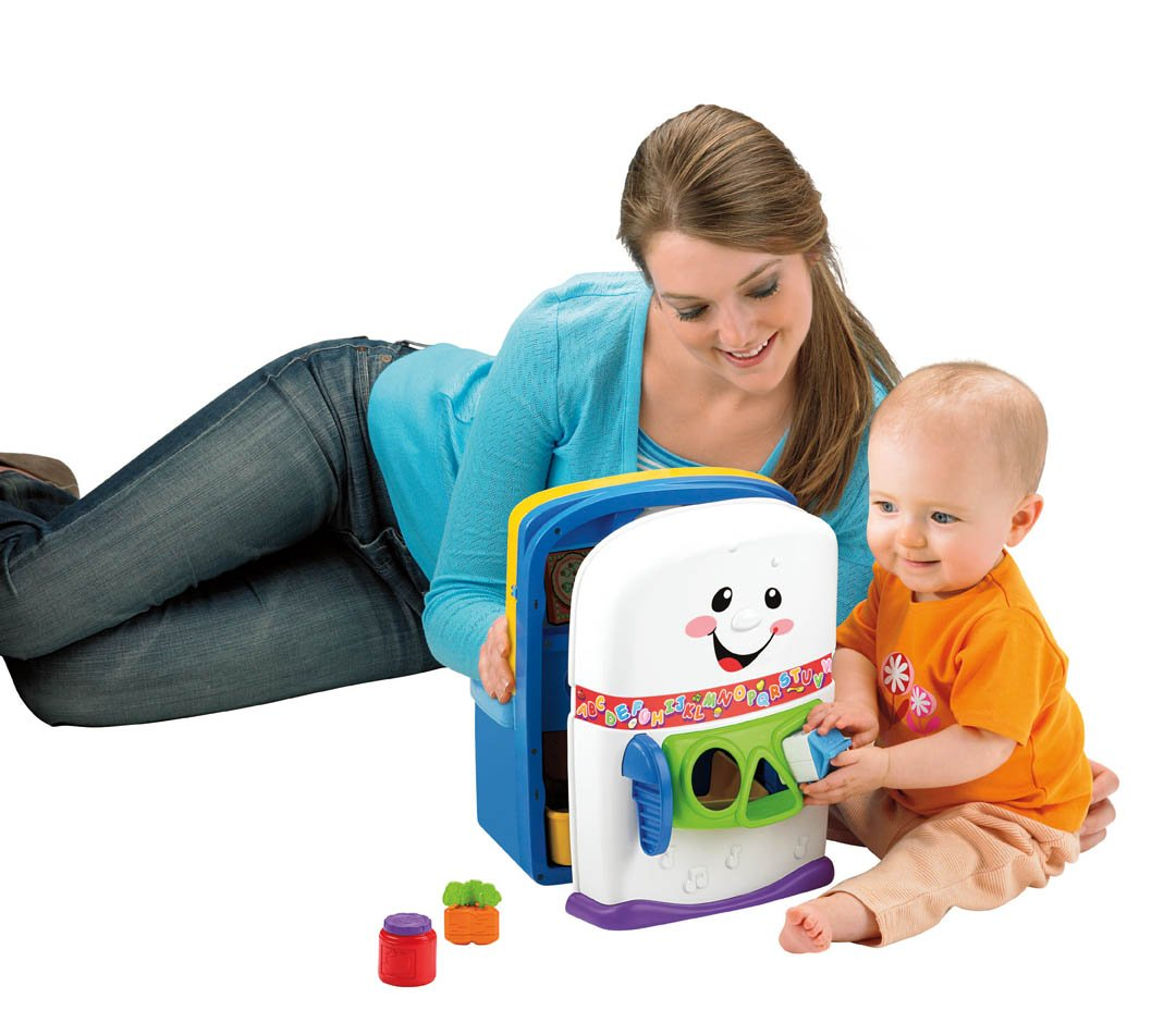 Amazon.com: Fisher-Price Laugh & Learn Learning Kitchen Activity ...