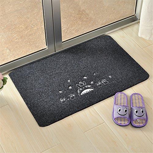 Sytian® 50*80cm Soft Absorbent Non Slip My Neighbor Totoro Doormat Floor Mat Bath Mat Bathroom Shower Rug - By Number Order My Track Order