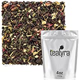 Tealyra - Fat Burner - Wellness Weight Loss Tea Blend - Pu Erh Aged with Sencha Green Tea and Wu-Yi Oolong - Diet Refreshing - Natural Ingredients - Healthy - Detox Loose Leaf Tea - 110g (4-ounce)