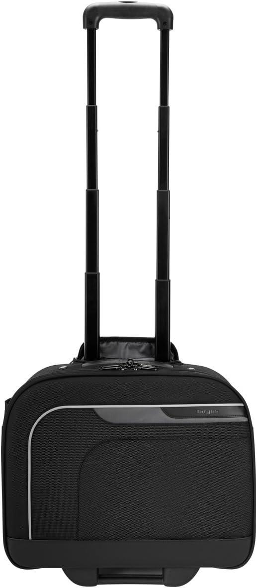 Targus Mobile Elite Checkpoint-Friendly Overnight Rolling Case with Safeport Sling for 14-Inch Laptops, Black (TBR028)