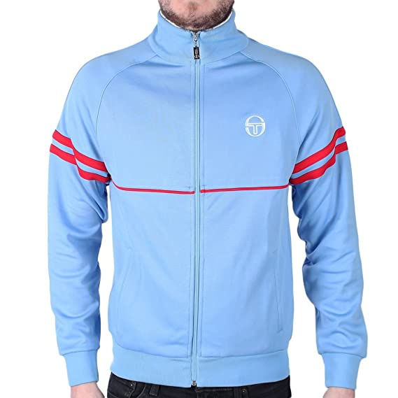 Sergio Tacchini Mens Orion Track Jacket, Blue at Amazon Mens Clothing store: