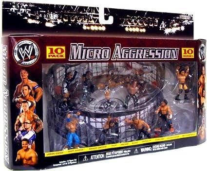 - Jakks Micro Aggression WWE Wrestling Figure 3 Carlito
