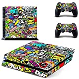 CAN PS4 Console Designer Protective Vinyl Skin Decal Cover for Sony PlayStation 4 & Remote DualShock 4 Wireless Controller Stickers - Hoonigan