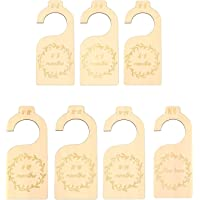 7pcs Baby Closet Divider, Wooden Baby Closet Size Organizers Hanging Closet Dividers from Newborn Infant to 24 Months…