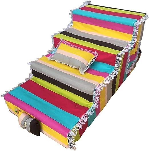 GLJJQMY Escalada para Mascotas Escala de Juguete Ocio Entretenimiento Juguete Cama para niños Escalera para Escalar Parte Inferior Antideslizante Escaleras de Mascotas: Amazon.es: Hogar