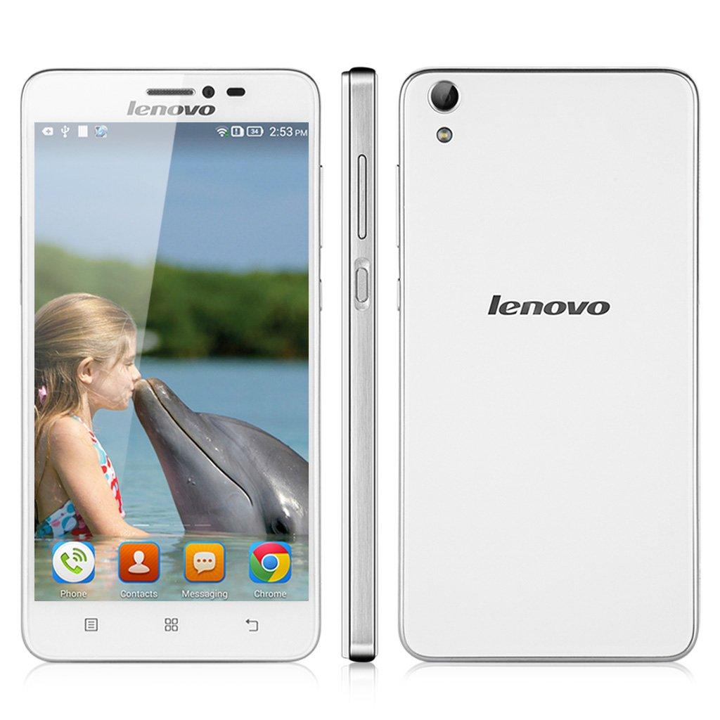 Lenovo S850 Smartphone Commercial White Large 5 Inch Quadcore Processor Electronics