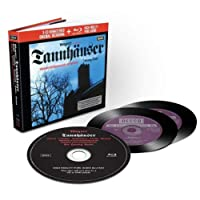 Wagner: Tannhäuser (Livre-Disque 3CD+Blu-Ray Audio - Édition Limitée)