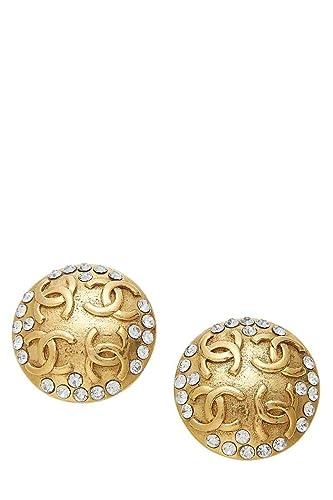 75405ff17 Amazon.com: CHANEL Gold Crystal