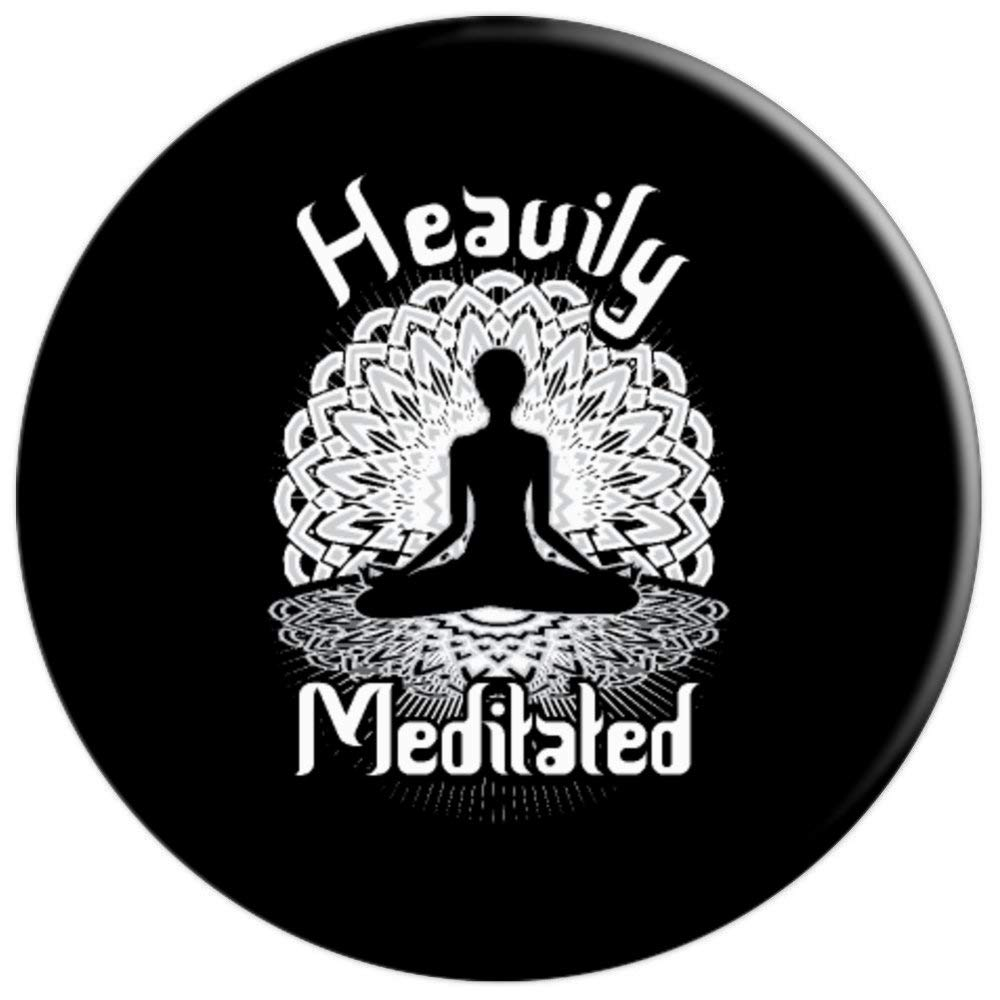 Amazon.com: Funny Heavily Meditated Yoga Spiritual Mandala ...