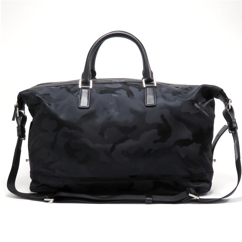 マイケルコース 2WAY ショルダーバッグ メンズ MICHAEL KORS bag ナイロン BLACK/ブラック迷彩 33S5SKNU3U BLACK [並行輸入品] B0716NT8BY