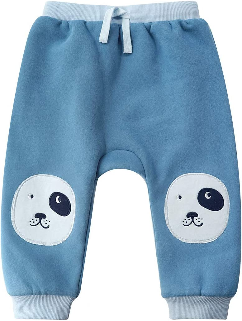 Beb/é Pantalones de Doble Capa Jogging Ni/ños Unisexo Pantal/ón Deportivos