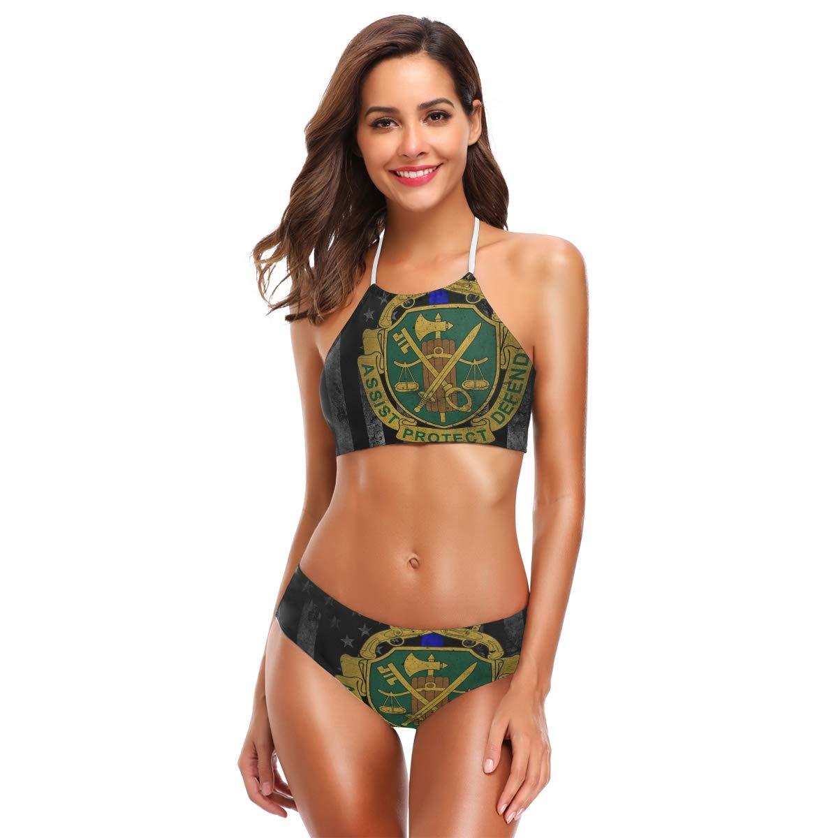 Amazon.com: SLHFPX - Traje de baño para mujer, diseño retro ...