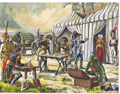 Soldiers and Uniforms of the First Empire (Soldats Et Uniformes Du Premier Empire), La Maison De L'empereur. 2 Looseleaf Plates
