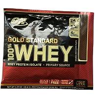 10包装|Optimum Nutrition ON 欧普特蒙 黄金标准100% 乳清蛋白粉 奶油巧克力味 30.4g/包 美国品牌 包税