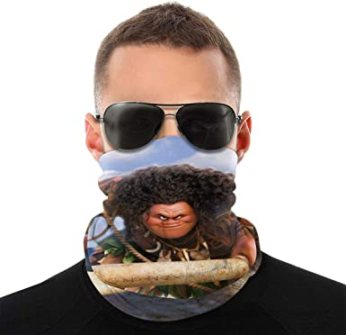 The Dis-Ney Moa-Na Breathable Mask & Shield Face Mask Shield Protective For  Men & Women Scarf Balaclava For Dust, Outdoors, Sports at Amazon Men's  Clothing store
