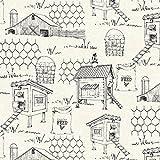 The Hen House Henhouse Eggshell Fabric By The Yard