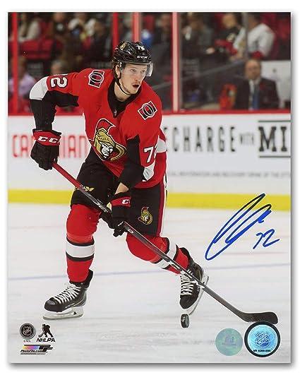 12cf6d5c328 Thomas Chabot Autographed Photo - NHL 8x10 - Autographed NHL Photos ...
