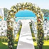 Metal Garden Arbor Wedding Arch 76.8 Inch H x