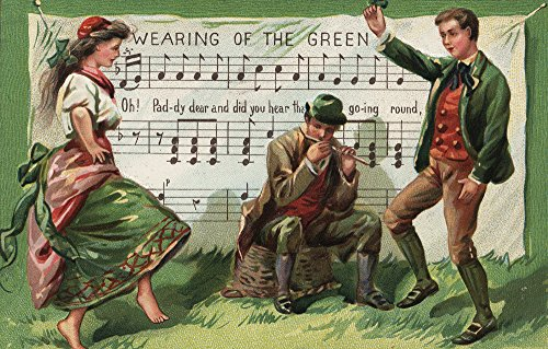St. Patrick's Day Greeting - Wearing of the Green Sheetmusic