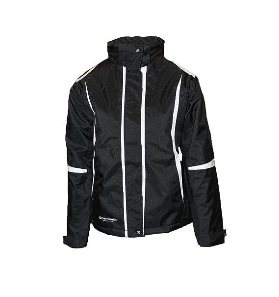 ChamoniX Sportswear - Chaqueta de esquí para Mujer, Color Negro, Mujer, Color Negro