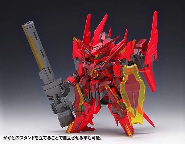 ウェーブ SUPER ROBOT HEROES イクスクレア・ガストクロウ ノンスケール 全高約16cm 色分け済みプラモデル KM-040