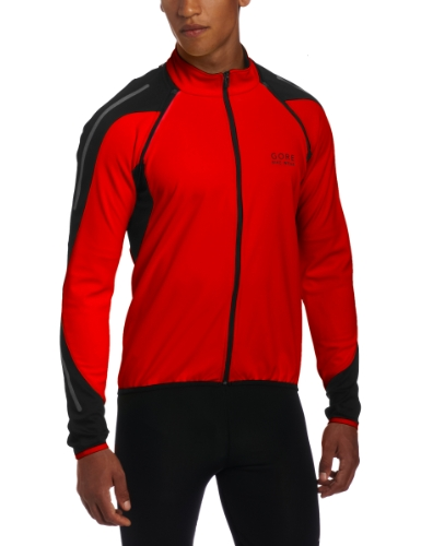 Windstopper Jacket Gore Tex - Gore Bike WEAR Men´s Phantom 2.0 Soft Shell Jacket, JWPHAS, Red/Black, XL