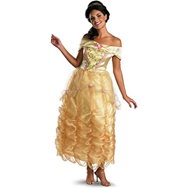 4e9959392f0a Amazon.com  Disguise Women s Disney Beauty and the Beast Belle ...