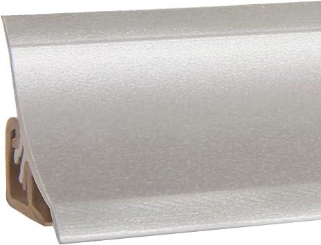 PVC K/üchenleiste Arbeitsplatte Abschlussleiste Leiste K/üche K/üchenabschlussleiste Wandabschlussleiste Tischplattenleisten DQ-PP MUSTER WINKELLEISTE 23 x 23mm Stone grigio