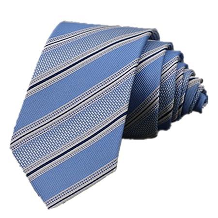YYB-Tie Corbata Moda Corbata de Seda teñida con Hilos Lazo de ...