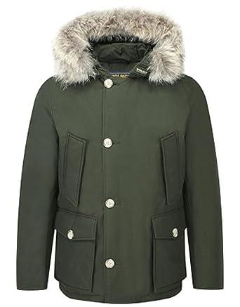 Woolrich - Manteau imperméable - Parka - Homme - Vert - Small  Amazon.fr   Vêtements et accessoires ed461d1dd0cf