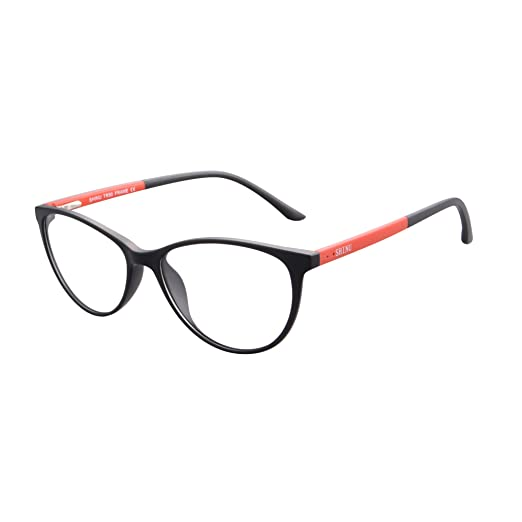 85ddcc20118 SHINU Cateye Blue Light Blocking Anti-fatigue Clear Lens Computer Glasses -SH086(black