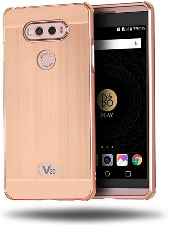 Funda LG V20 Sunroyal® Carcasa Nueva Lujo Ultrafino del Metal de ...