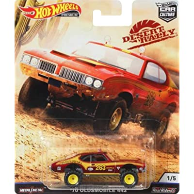 Hot Wheels Car Culture Olds 442 Off Road: Toys & Games