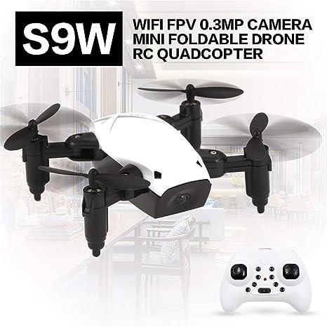 Amazon.es: Heaviesk para S9W WiFi FPV 0.3MP Cámara Mini Drone ...