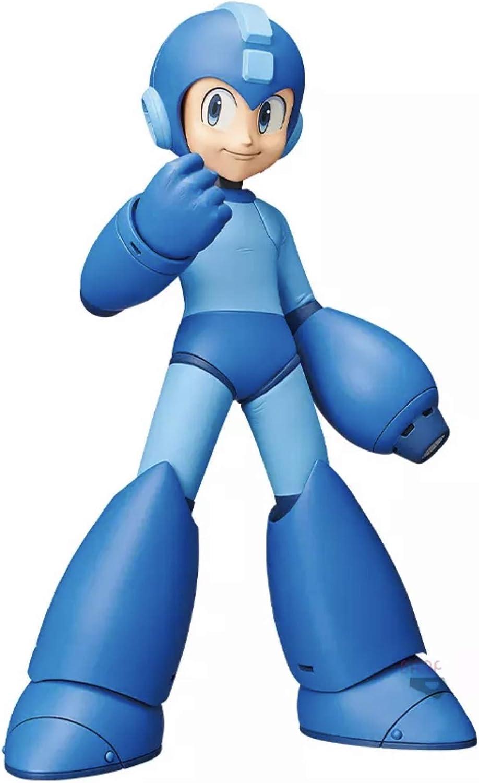 Banpresto-BP15999 Megaman Figura de Acción, Mega Man Grandista Exclusive Lines, Color (Bandai BP15999)