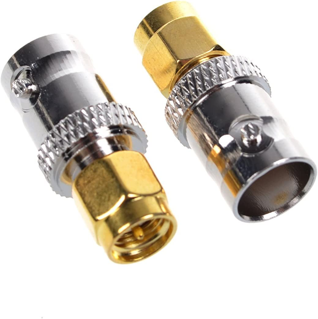 2 Blacell SMA Male to BNC Female RF Adapter