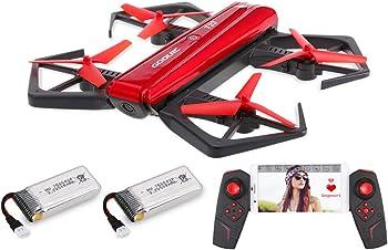GoolRC T33 WiFi FPV 720P HD Camera Foldable Selfie Pocket Drone