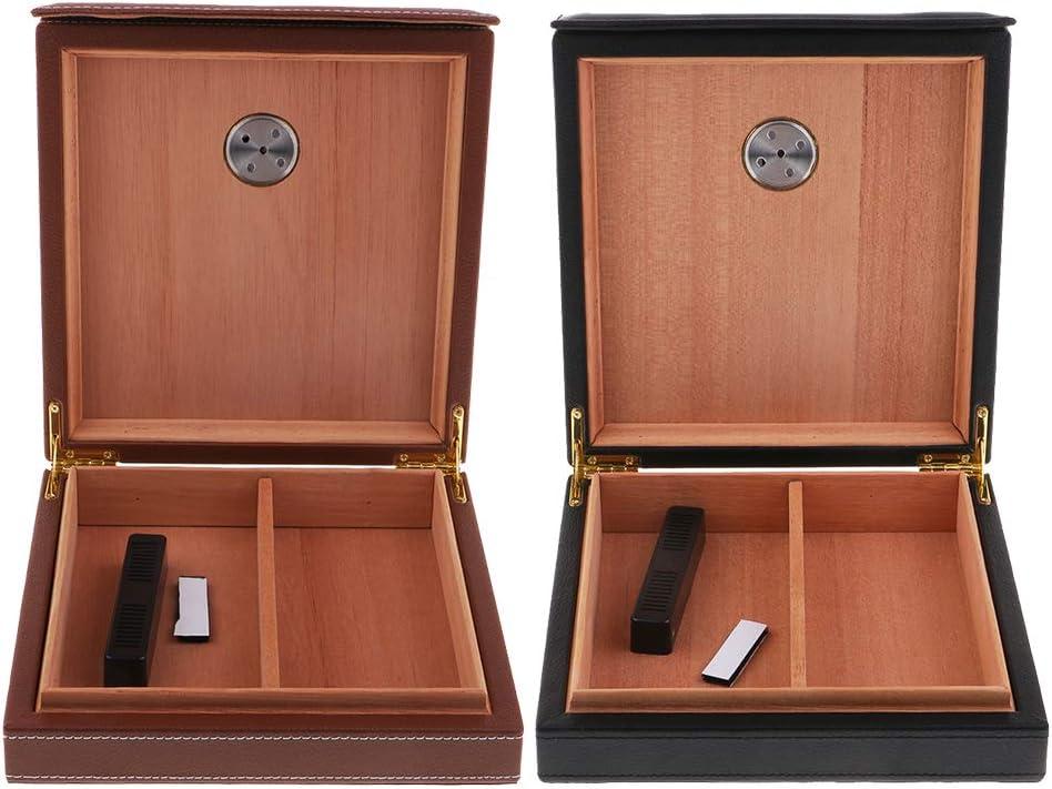 Baoblaze Rectangulaire Barre Humidificateur /à Cigares Noir